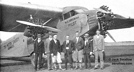 Airlines of usa n z for Ford tri motor crash