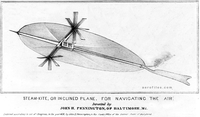 flying machine shovel