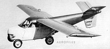 The Aerocar Was Designed To Drive Fly And Then Again Without Interruption Taylor Covered His Car With A Fibergl Shell 10 Foot Long 3 Meter